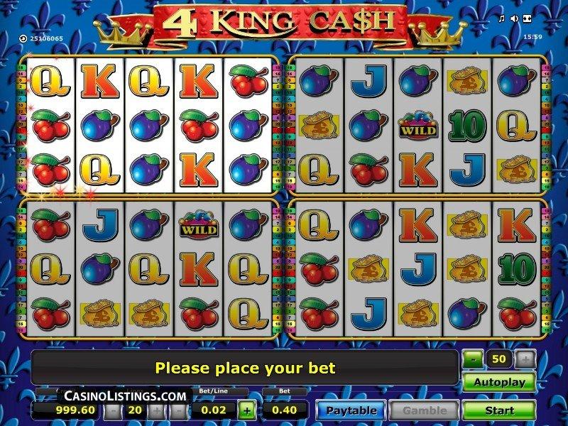4 Reels Kings Slot