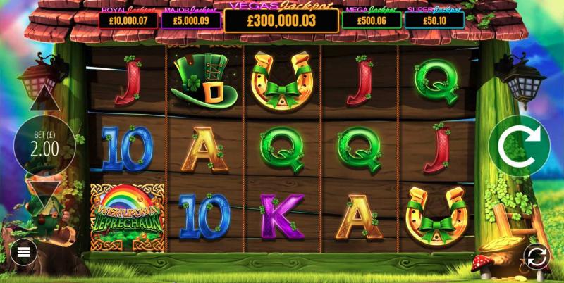 Wish Upon a Leprechaun Slot Game