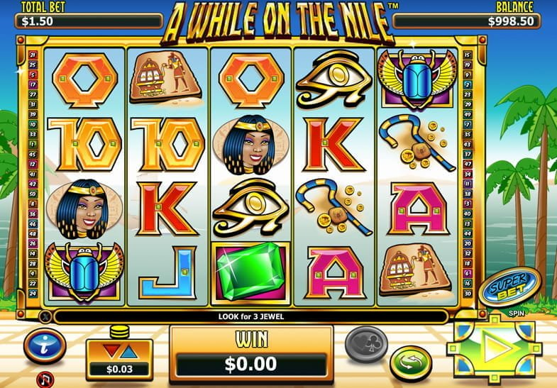 A While On The Nile Slots