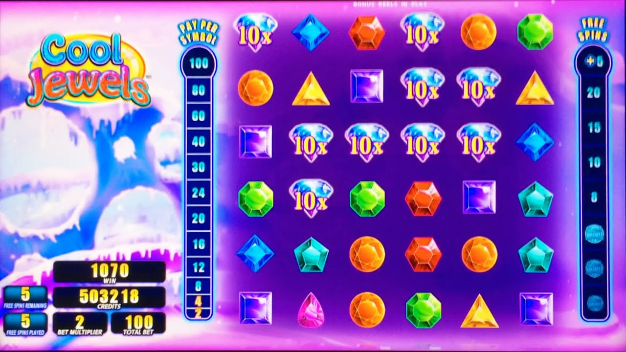 Example of a jewels slot game