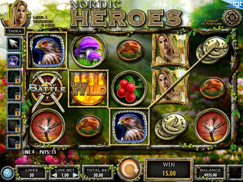 Nordic Heroes Slots