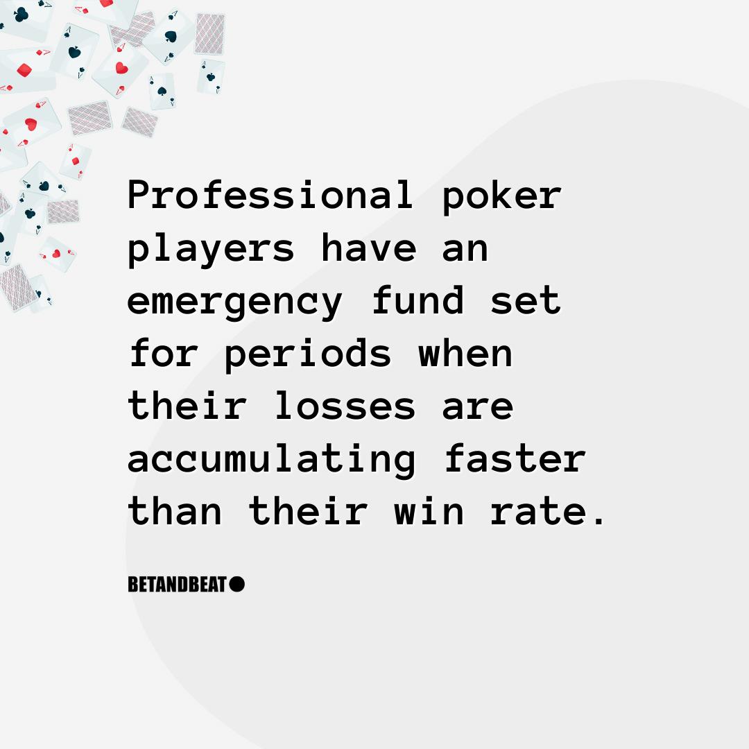 bankroll management for losing streaks in poker