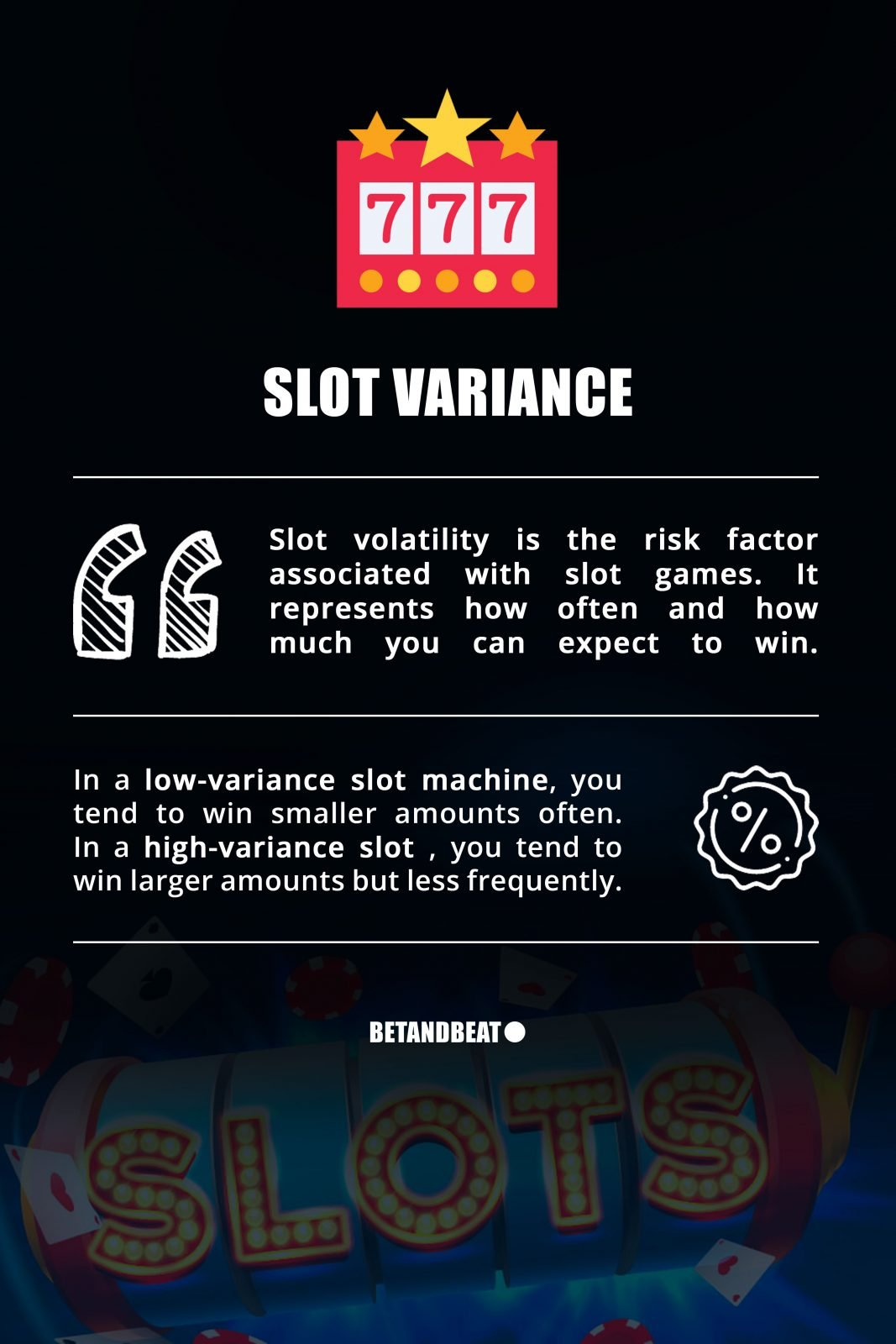 slots variance