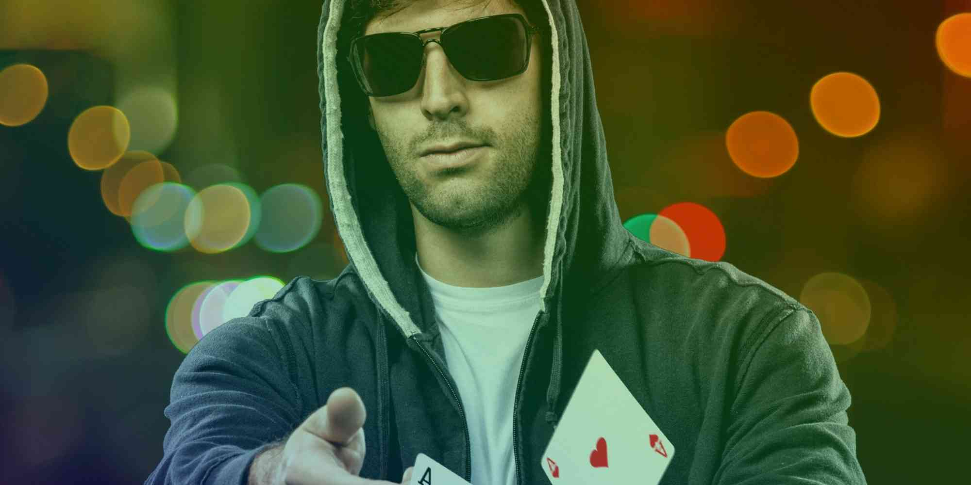 Why Do Poker Players Wear Sunglasses At a Poker Table?