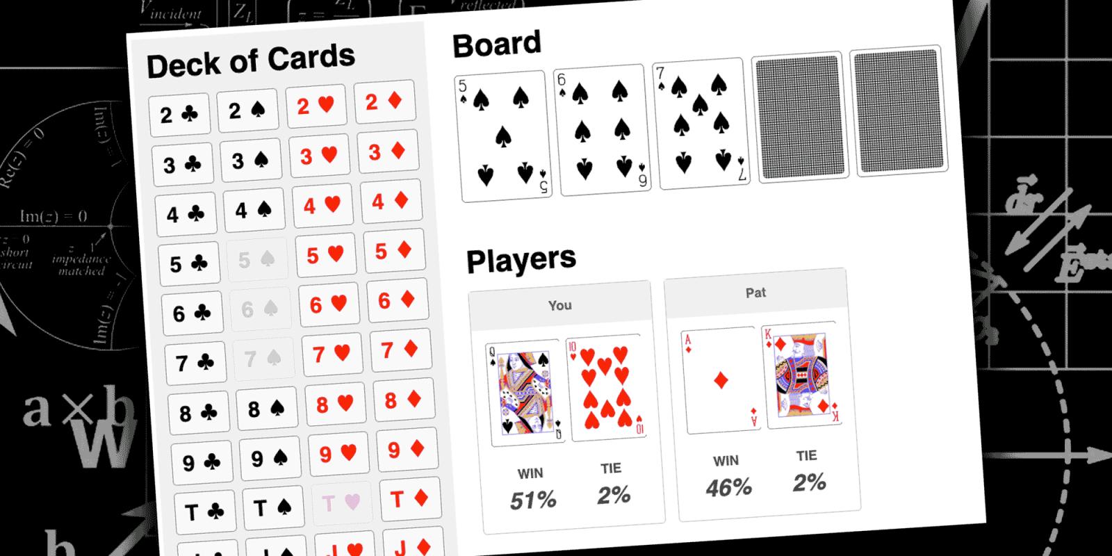 Texas Holdem Odds Calculator