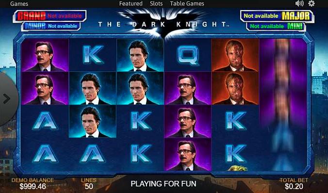 The Dark Knight Slots