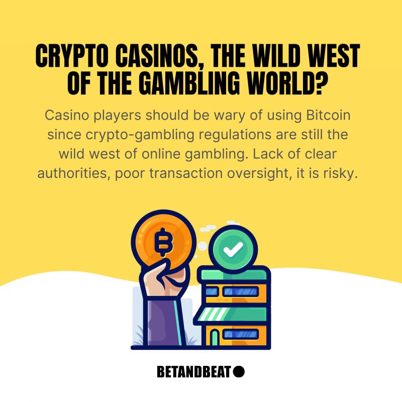 be wary of crypto-gambling