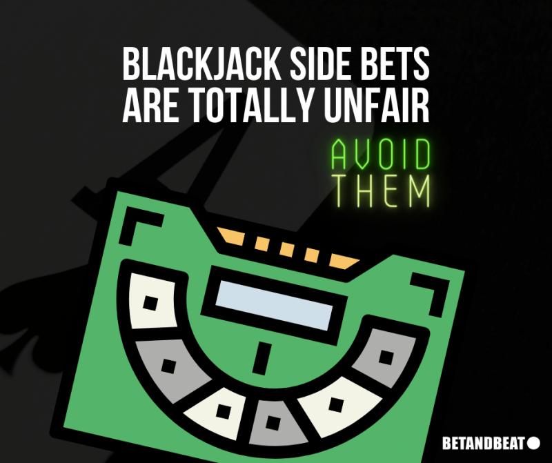 the house edge of blackjack side bets