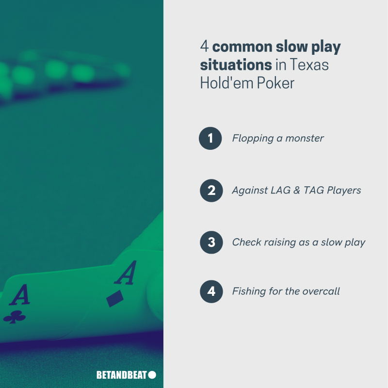 common slow play situations