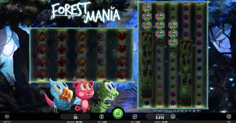 Forest Mania by iSoftBet