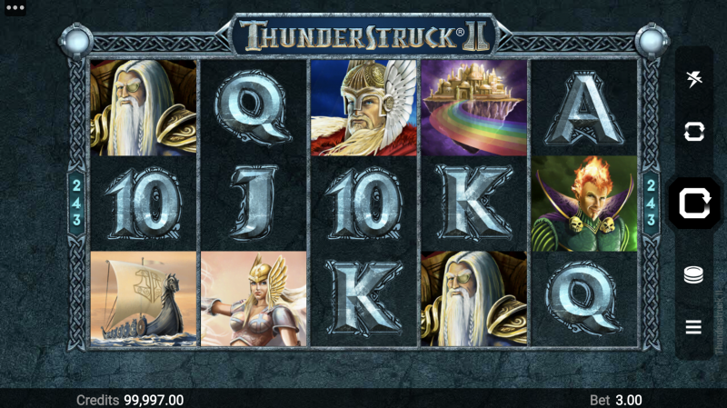 ThunderStruck II by MicroGaming