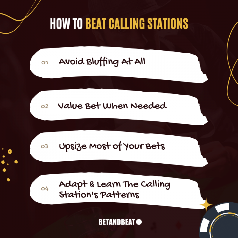 How to beat calling stations