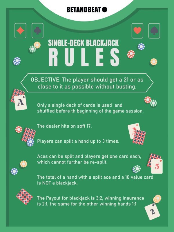 single-deck blackjack rules
