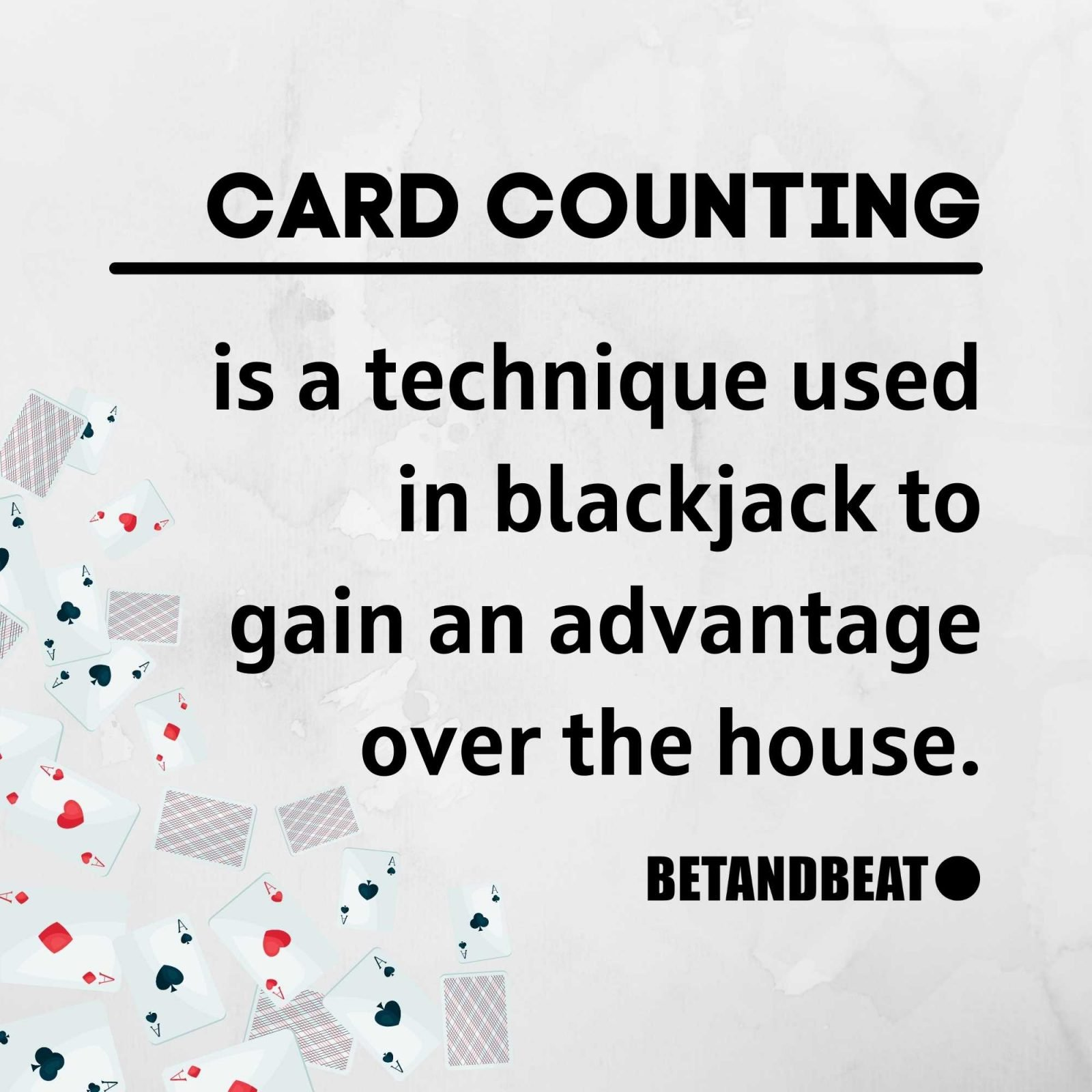 card counting blackjack strategy