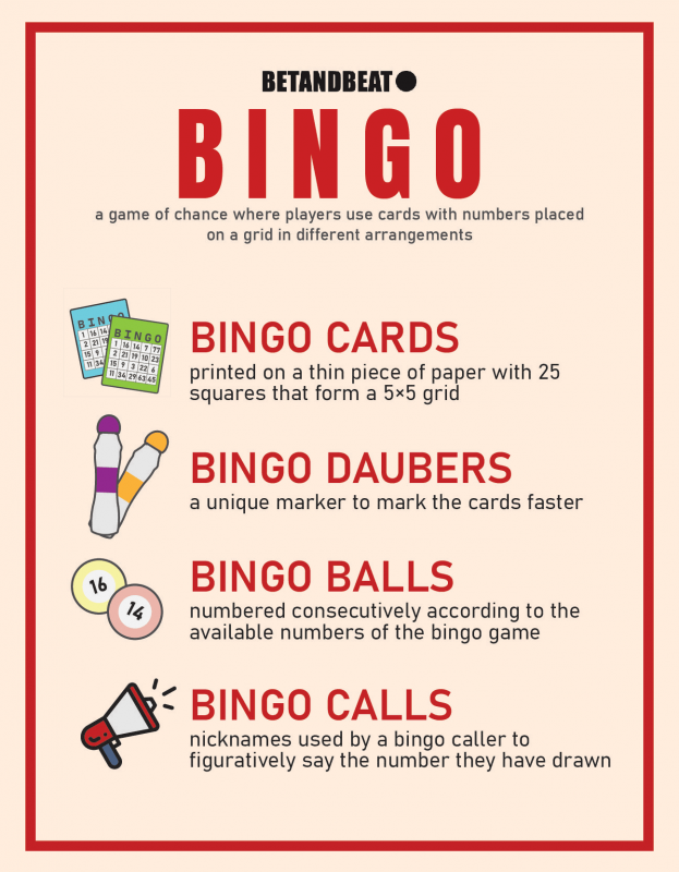 The key concepts of Bingo.