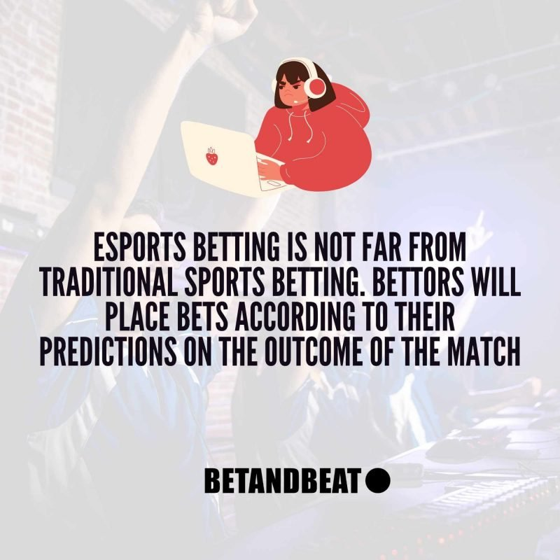 eSports betting vs sports betting