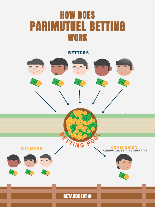 how does parimutuel betting work