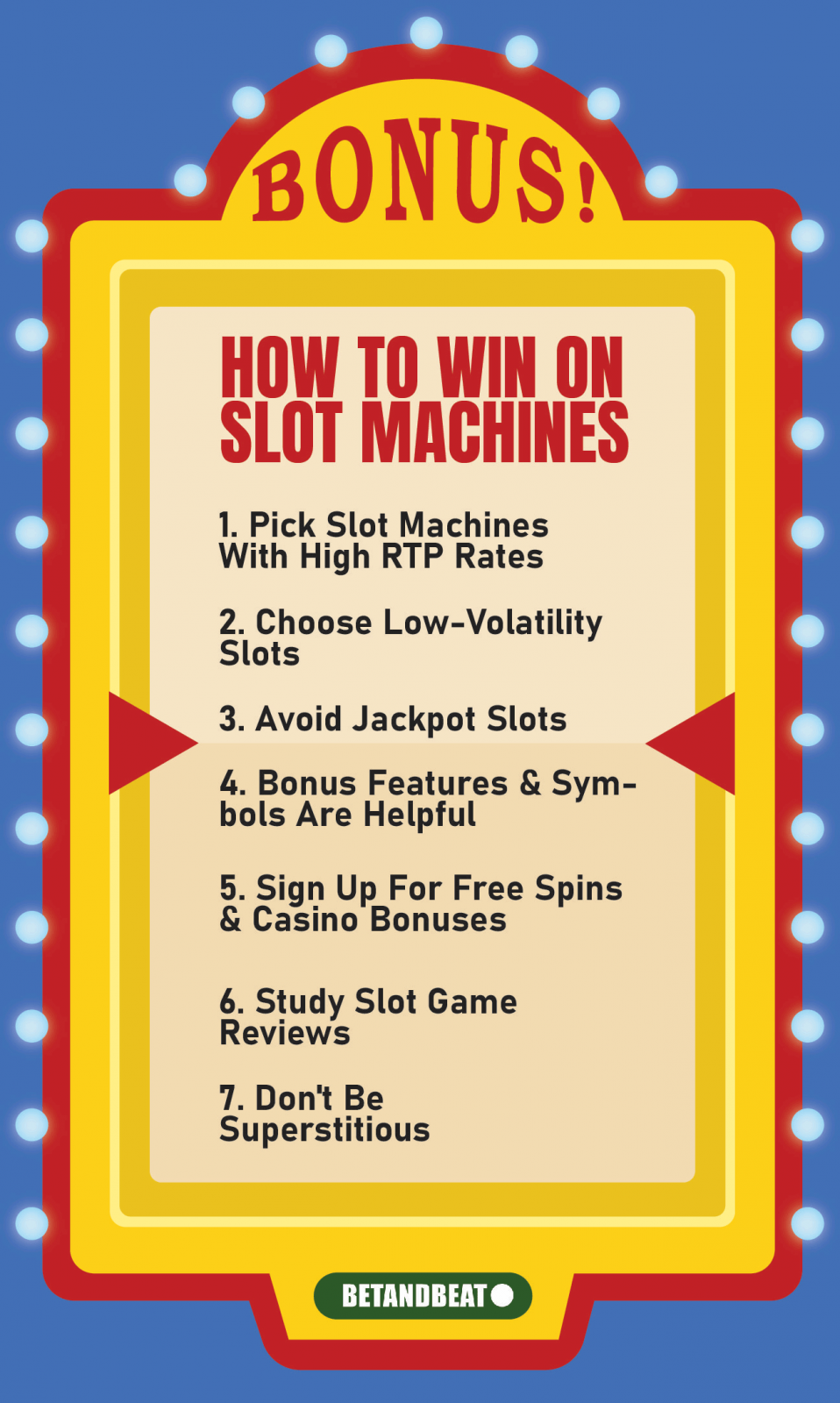 tips to help you win at slots every time