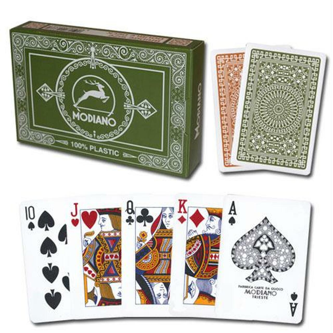 Modiano Cards