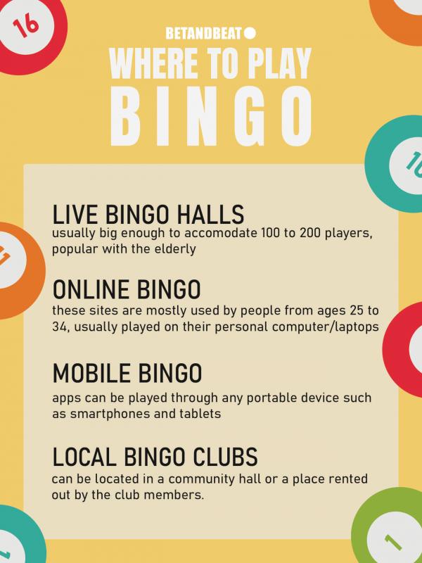 Where should you play Bingo?