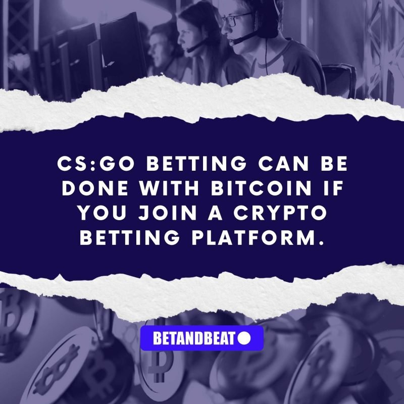 CS:GO Crypto Betting