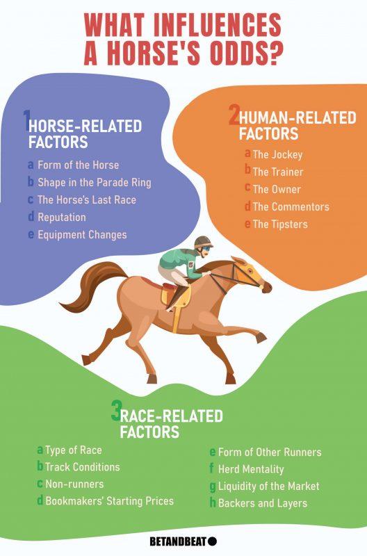 horse odds influences