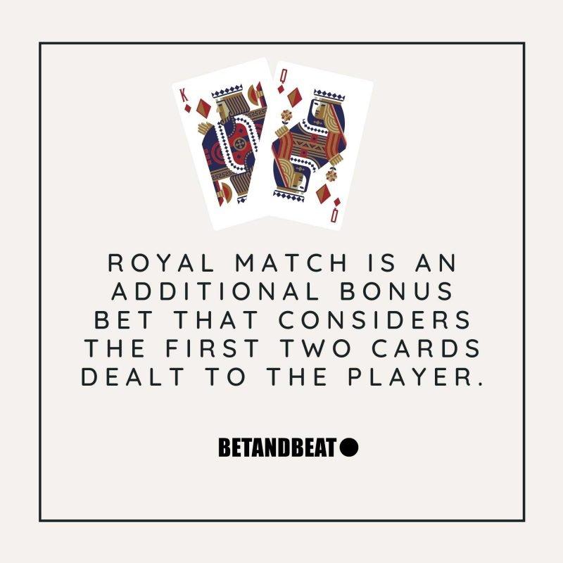 royal match in blackjack