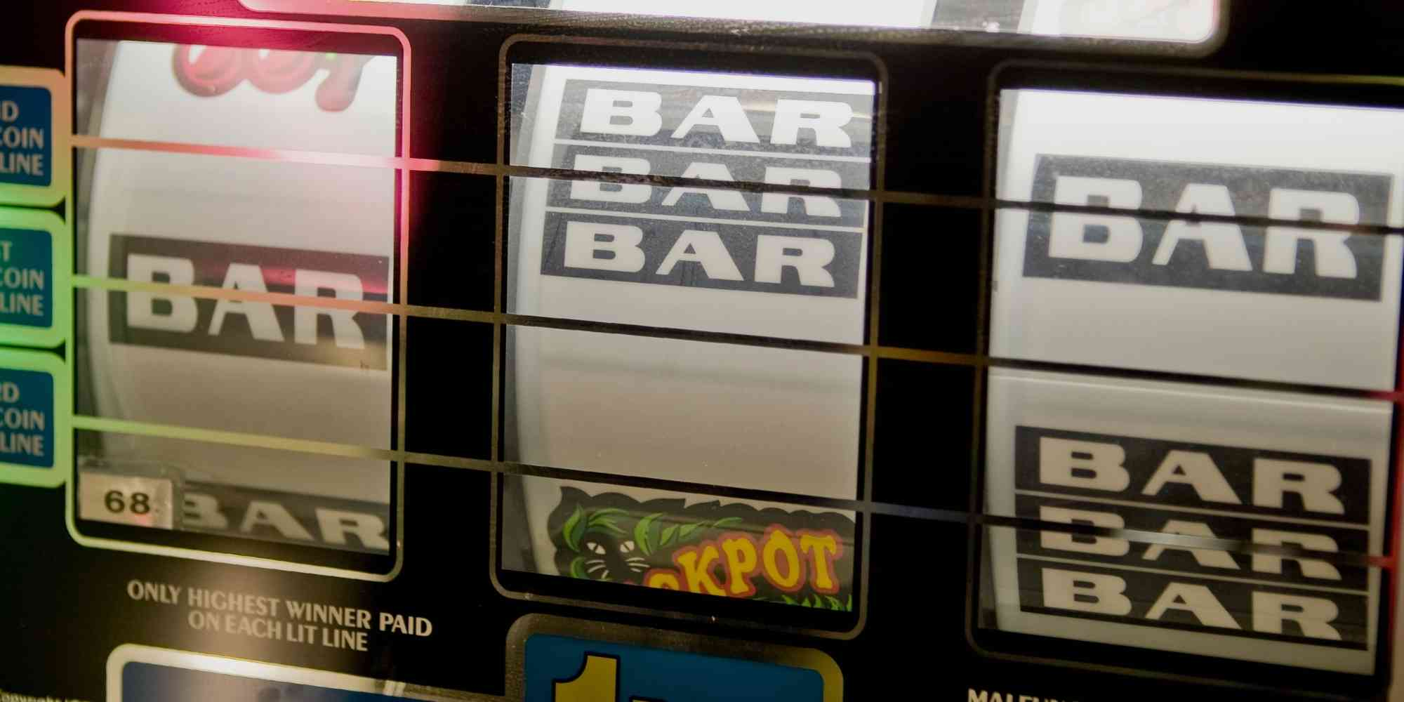 Why Do Slot Machines Say