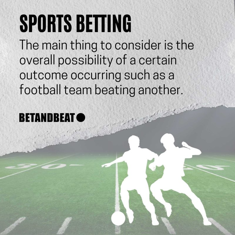 Sports Betting Odds and Implied Probabilities