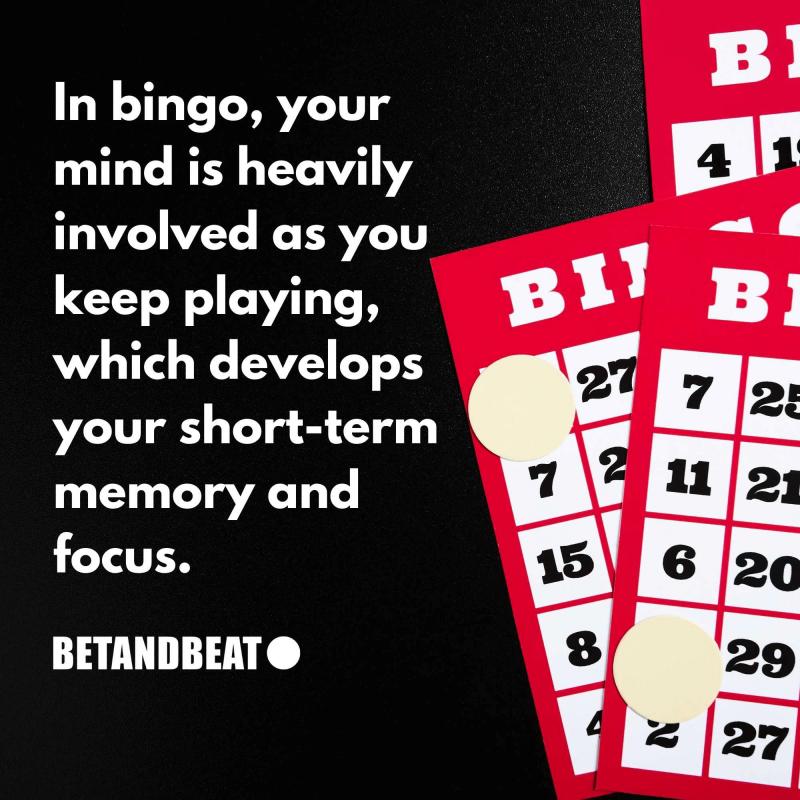 bingo's influence on focus and memory