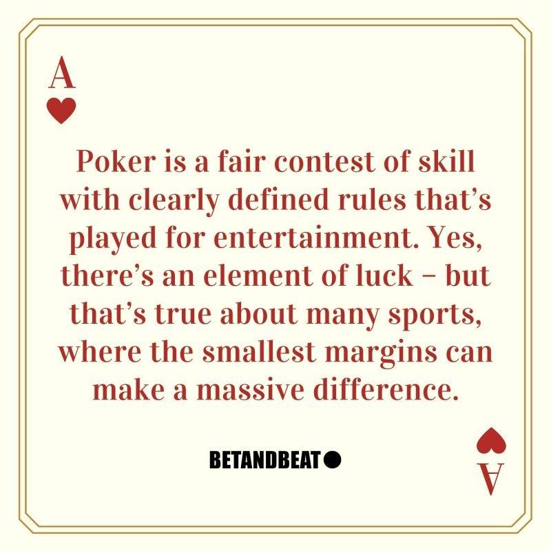 gambling as a sport