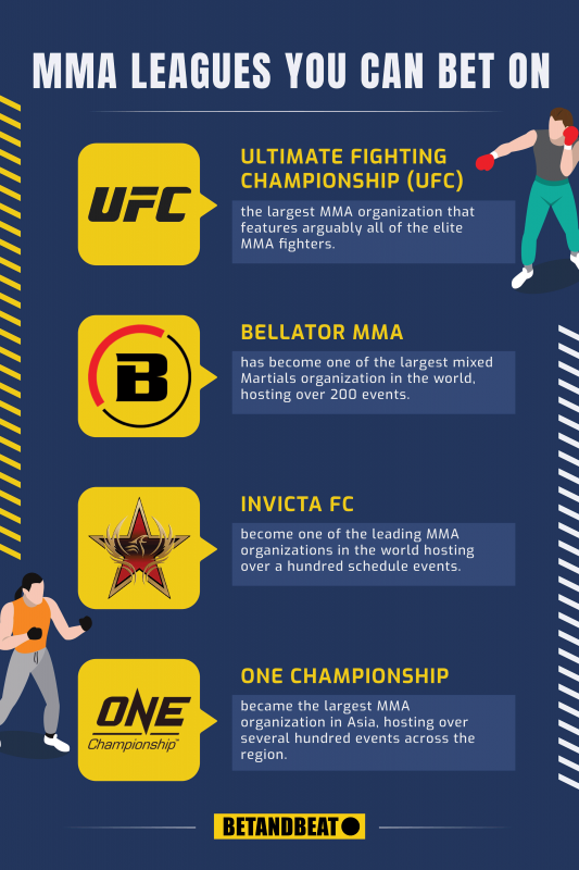 Top MMA Leagues You Can Bet On