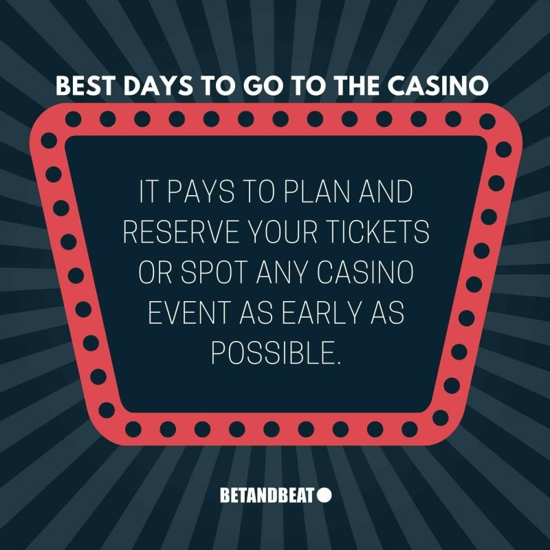 planning to go to the casino