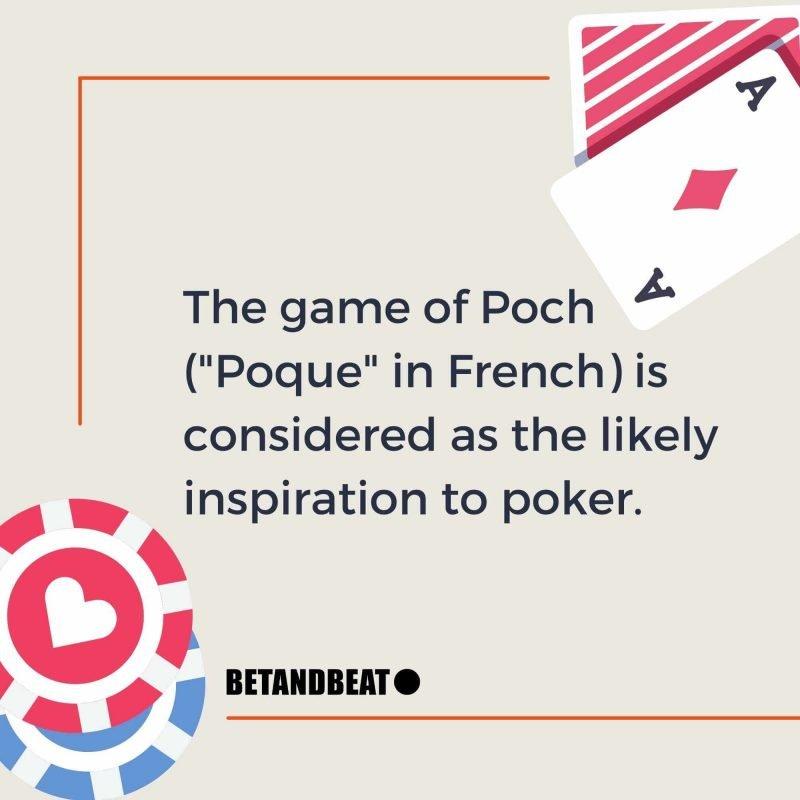 poker, poch, and poque
