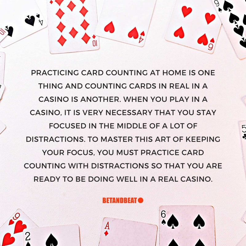 practicing card counting at home
