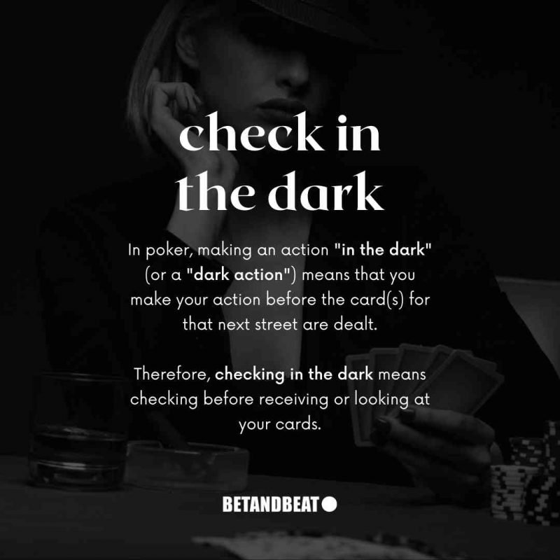 Check In The Dark Explained