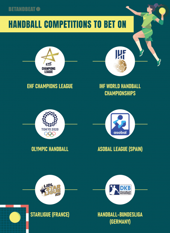 handball betting events
