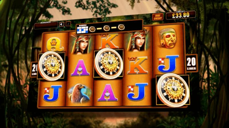 Montezuma Slot by WMS (SG Gaming)