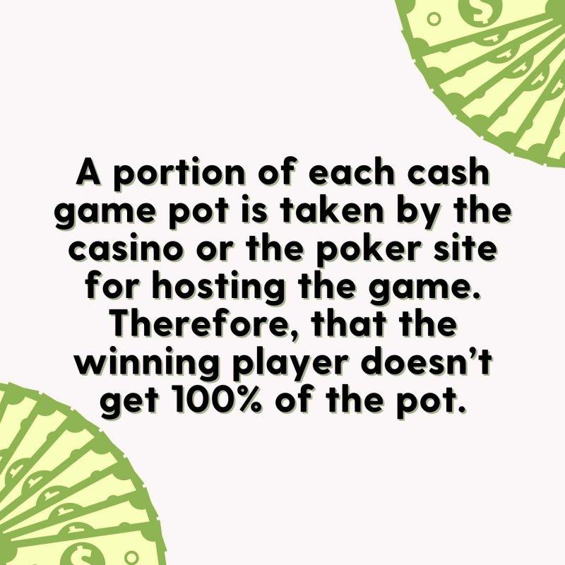 rake in poker