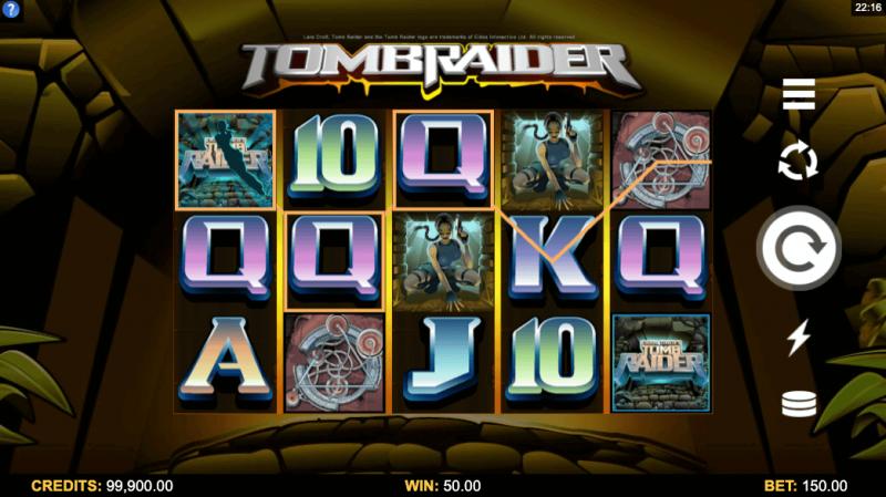 Lara Croft: Tomb Raider by Microgaming