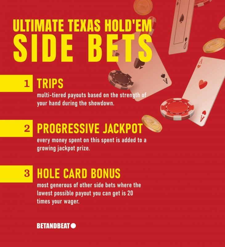 Side Bets in Ultimate Texas Hold'em