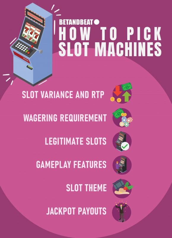 how to pick online slots