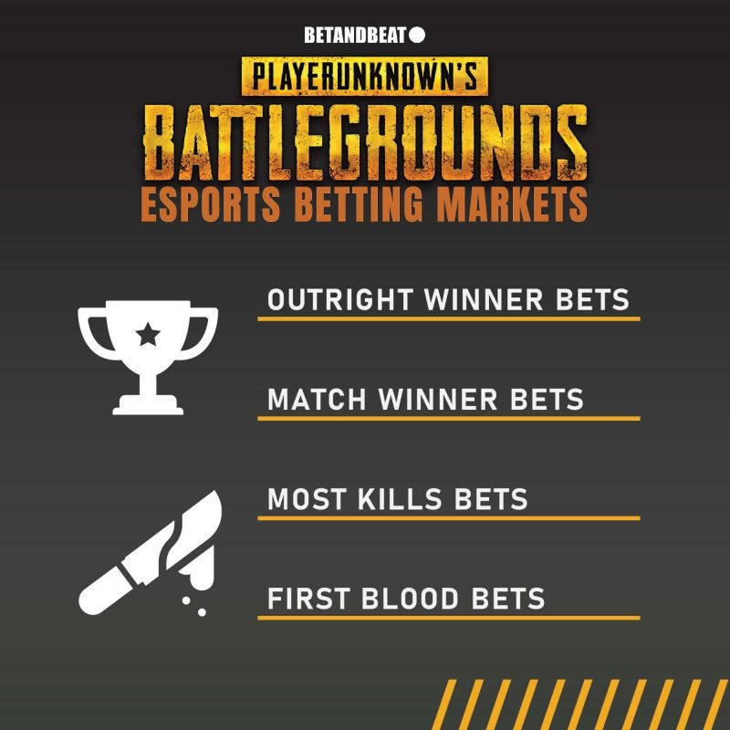 Types of Bets in PUBG