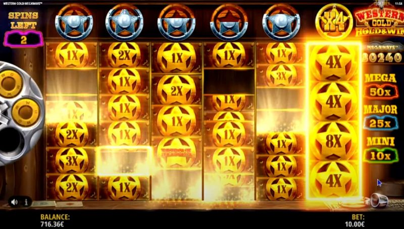 Western Gold Slot (JustForTheWin)