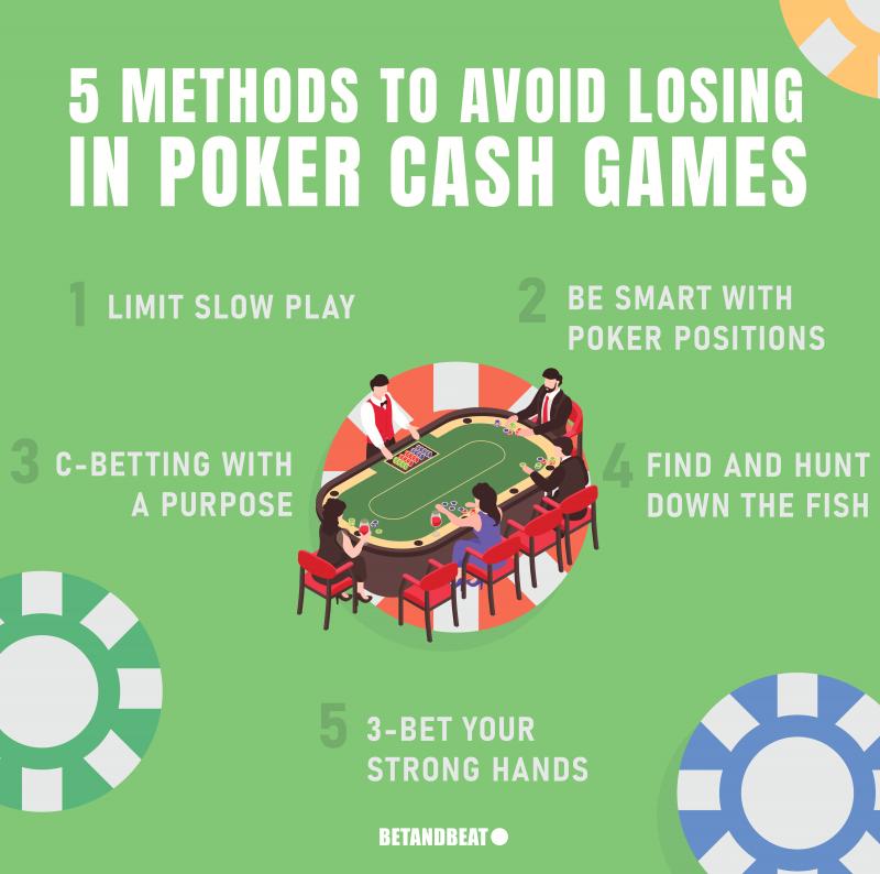 methods to stop losing in poker cash games