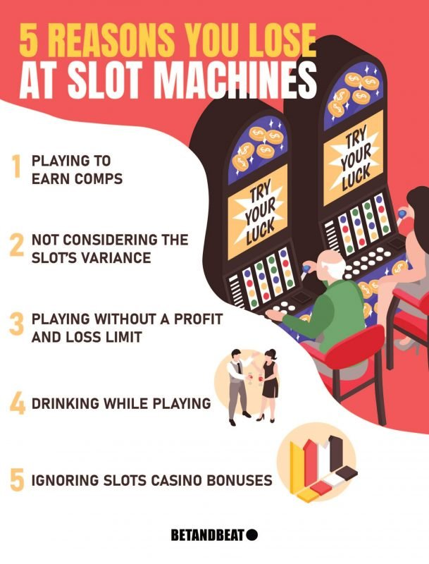 why do you always lose on slot machines